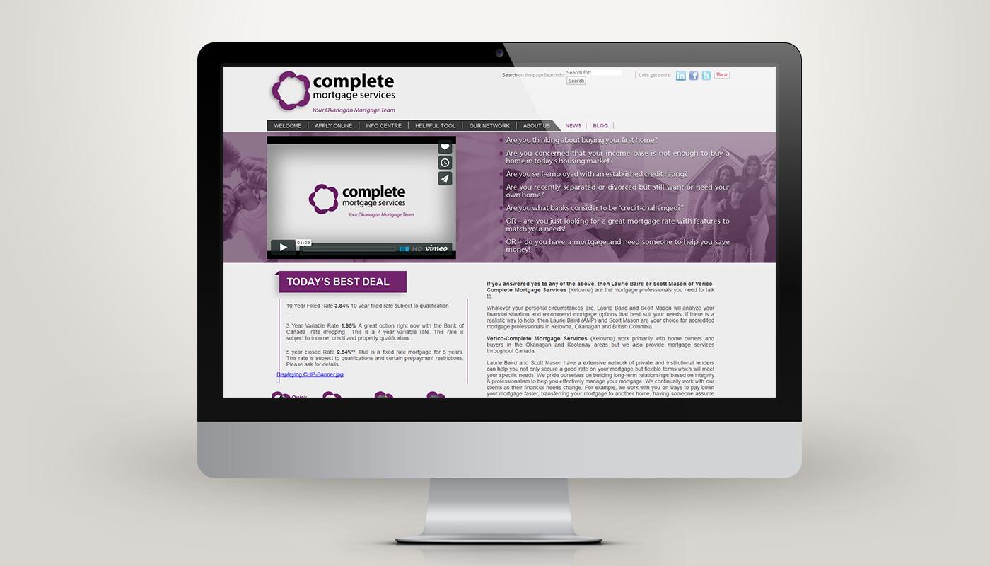Complete Okanagan Mortgage Service