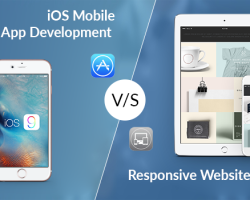 Choose Between Responsive Website or iOS Mobile App