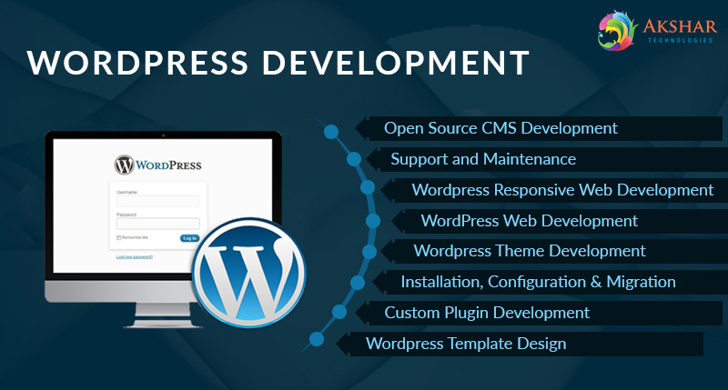 Hire Us To End Your Search of WordPress Development Company - Akshar