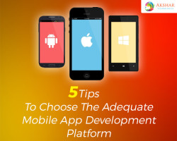 5 Tips To Choose The Adequate Mobile App Development platform