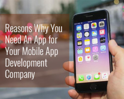 Reasons Why You Need An App for Your Mobile App Development Company