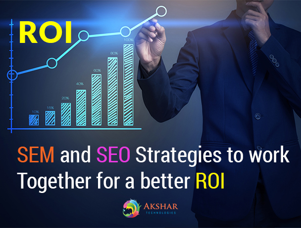 SEM And SEO Strategies To Work Together For A Better ROI